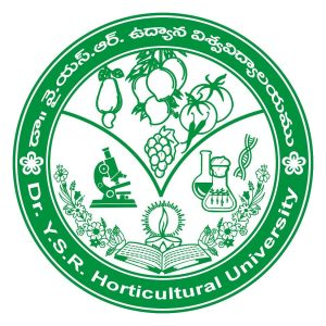 DR YSR Horticultural University Recruitment