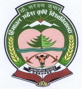 Himachal Pradesh Agricultural University Recruitment