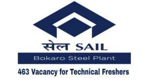 SAIL Bokaro Steel Plant Recruitment