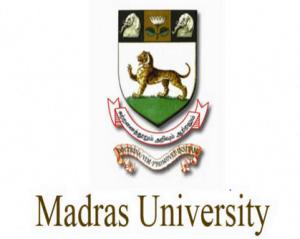University of Madras Recruitment